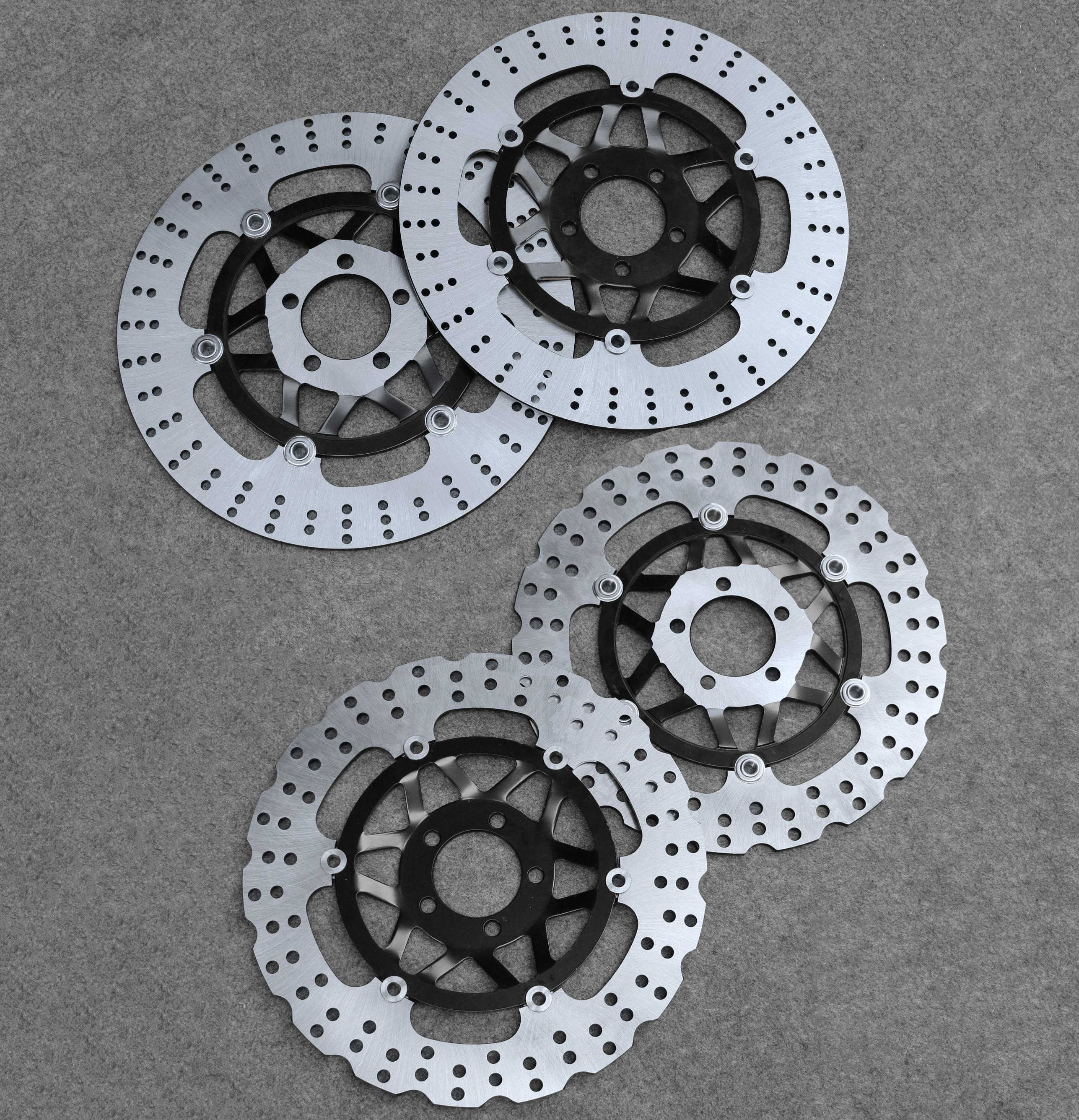 Front Brake Disc Rotor Fit For Kawasaki VN1500 VN1600 Vulcan Meanstreak  VZR1800