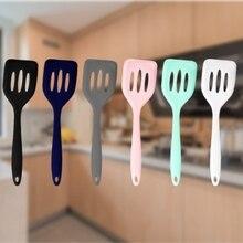 Slotted Turner Cooking-Utensils Shovel Frying-Pan Pancake Non-Stick Kitchen Silicone