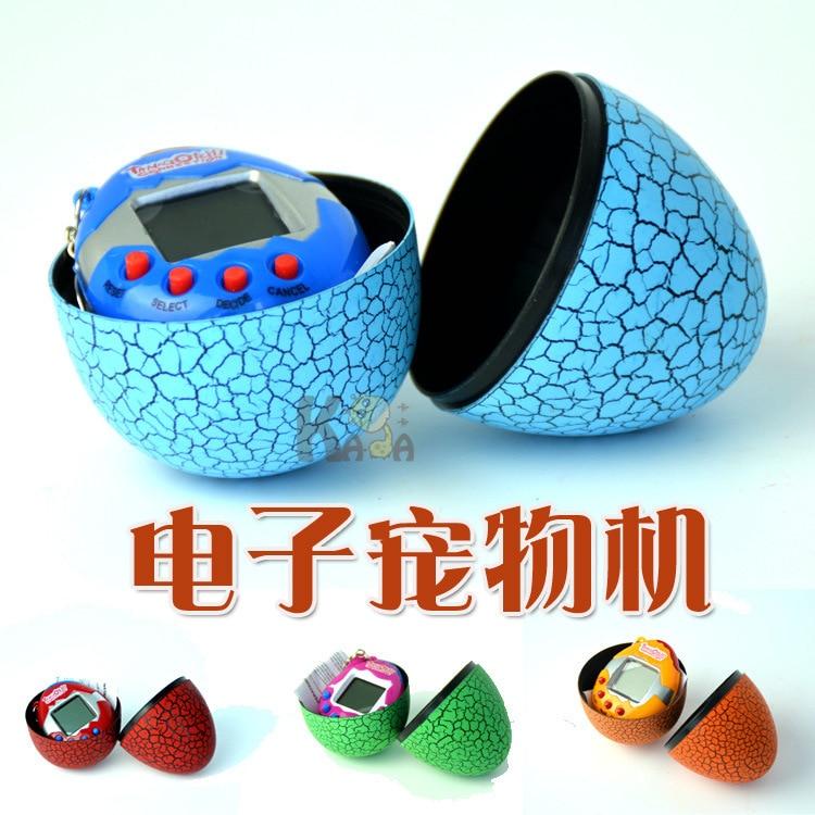 Electronic Virtual PET Machine Tumbler Crack Egg Shell-Develop Electronic Pet Game Console Toy