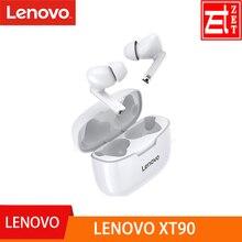 Original Lenovo XT90 TWS Wireless Earphone Bluetooth 5.0 Dual Stereo Noise Reduction Bass Touch Control Long Standby 300mAH