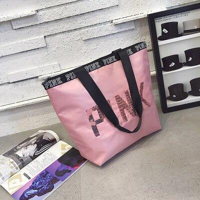 Special Offe Pink Girl Travel Duffel Bag Women Beach Shoulder Bag Large Capacity Bags Travel Business Handbags Sac Main Femme