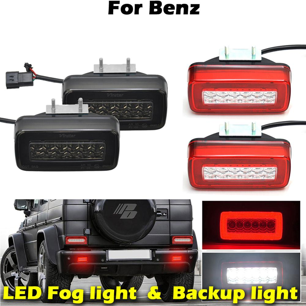 For Mercedes Benz W463 G-Class G500 G550 <font><b>G55</b></font> G63 <font><b>AMG</b></font> Car Rear LED Backup light Stop lamp Fog Lights image