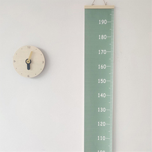 1Pc 200cm*20cm Nordic Solid Color Children Height Growth Chart Wall Hanging Ruler for Kids Room Kindergarten