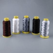 900 mètres 210D fils de Nylon collés pour la réparation de toile de couture en cuir bricolage