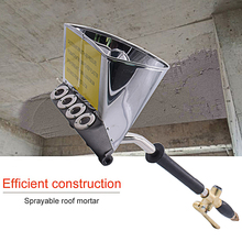 Portable Roof Spray Gun Pneumatic Cement Mortar Wall Sprayer Rapid Blasting Shovel Paint Machine