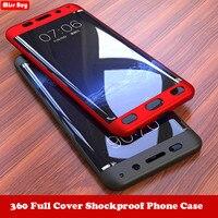 Custodia per telefono a 360 gradi per Huawei Honor 7C 7A Pro 7X 6X V9 V10 8X 9 Y7 Prime Mate 10 P9 P10 P8 Lite 2017 P Smart Cover antiurto