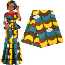 Батик Анкара, Африка Печать Лоскутная Ткань гарантировано натуральный воск Tissu 100% хлопок лучшее качество для изготовления платьев
