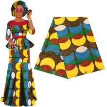 Batik Ankara Africa Printing Patchwork Fabric Guaranteed Real Wax Tissu 100% Cotton Best Quality For Dress Making Craft Material