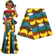 Batik Ankara Afrika Druck Patchwork Stoff Garantiert Echte Wachs Tissu 100% Baumwolle Beste Qualität Für Kleid Machen Handwerk Material
