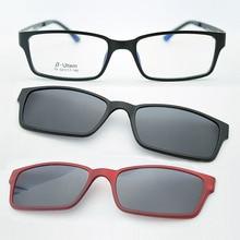 Ultra-light glasses magnet clip sunglasses myopia glasses polarized sunglasses jkk79 ultra light glasses frame belt magnet polarized clip sunglasses myopia glasses sunglasses jkk76