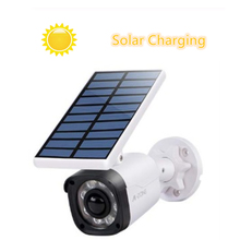 Fake Camera Solar Power Outdoor Simulation Dummy Waterproof Security CCTV Surveillance Bullet With Flashing LED Light