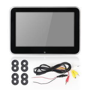 """Автомобильный подголовник с ЖК-экраном 10 """"/8"""" HD, DVD-видео плеер, USB/SD/FM TFT, цифровой экран, сенсорная кнопка, пульт дистанционного управления, автомобильный MP5 плеер"""