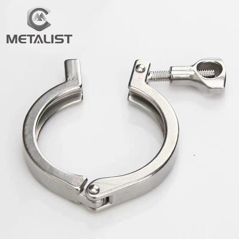 """METALIST 1.5""""-6""""  Tri Clamp Complete Sizes  SS304 Stainless Steel Tri Clover Sanitary Fitting For Home Brewing"""