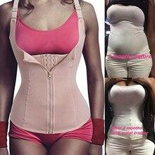 Women Sweat Neoprene Waist Trainer Slimming Sauna Vest Tummy Control Body Shaper for Weight Loss Faja Shapewear