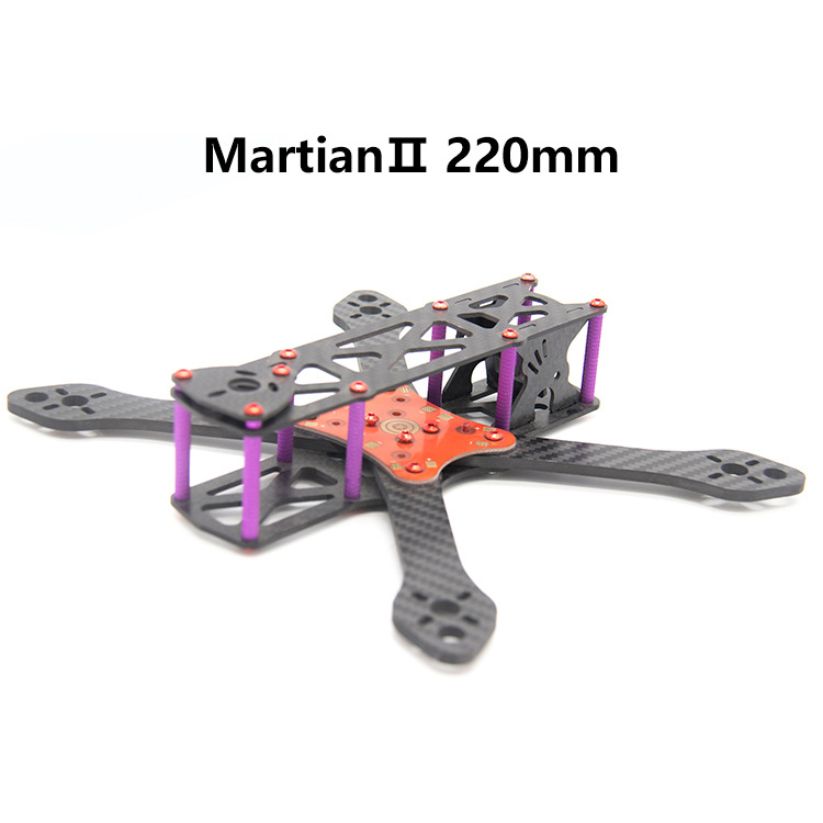 Are Jumping Through Machine Carbon Fiber Machine Frame MARSSENGER 2-5-Inch Wheelbase 220mmfpv Unmanned Aerial Vehicle Aerial Pho