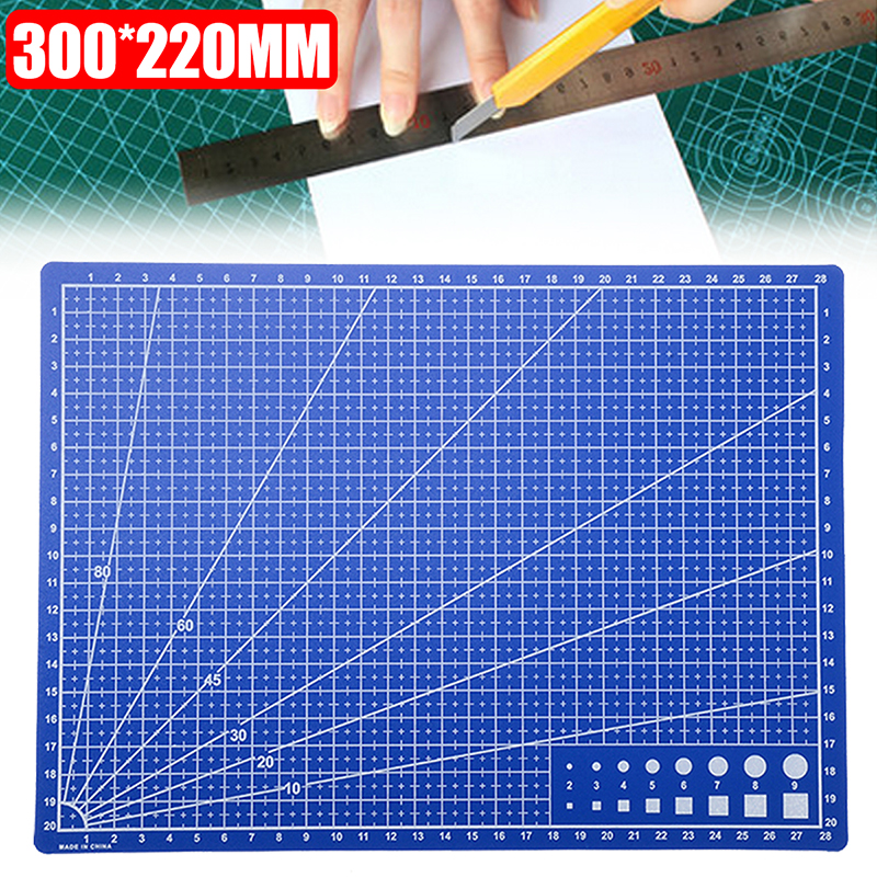 Mat Paper-Board Cutting Self-Healing Double-Sided-Grid A4 for 300--220mm-Lines title=