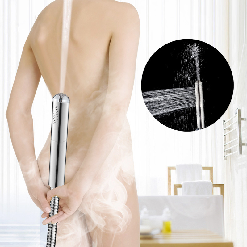 Spray Shower Stainless Steel Handheld Toilet Bidet Shattaf Sprayer Douche Faucet Brushed Wall Mounted Bathroom Shower Faucet