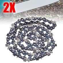 """2 шт./компл. 2"""" цепная пила 76 диск с заменой звеньев мельница направляющая планка цепи наклона лопастей 0,325"""" 0,058 датчик для резки древесины"""