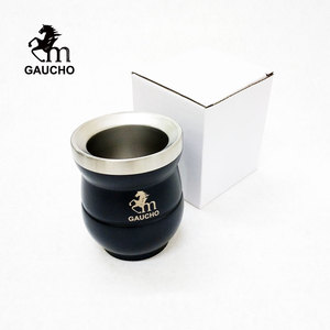 Image 5 - 1 PC/Lot Gaucho Yerba Mate Gourds Stainless Calabash Cups Heat Insulated Small Volume 150 ML Is Suitable For Children And Woman