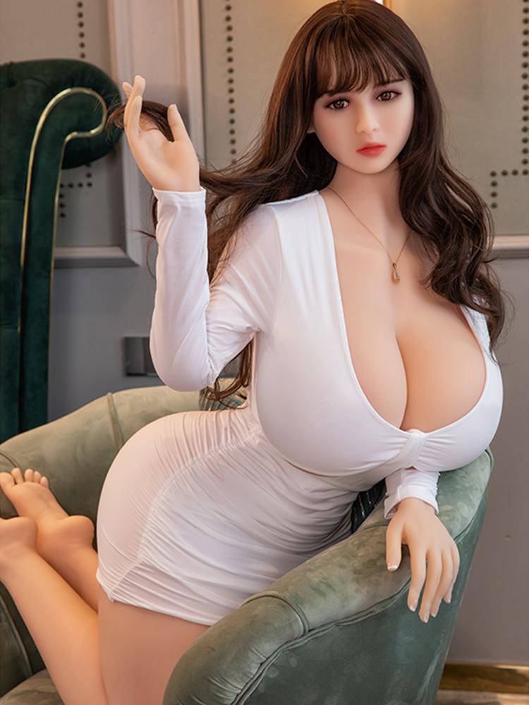 Hf1af8e84404c49e6acba2f82e933f8c6P Hanidoll-Muñeca sexual de 164cm para hombres adultos, juguetes para sexo, TPE, coño realista, Real, gran trasero, pechos grandes, productos sexuales