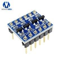 Diymore 5V 3,3 V DC IIC I2C преобразователь логического уровня двунаправленный Модуль платы для Arduino с Pins