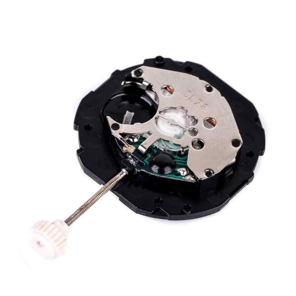 時計ムーブメントアクセサリー SL28 3 ピン 6 ポイントカレンダークォーツムーブメント SL28 運動バッテリなし