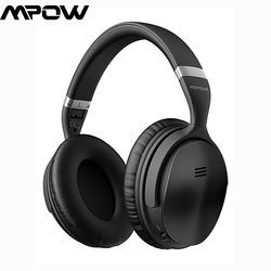 Mpow H5 Music Headsets Upgraded Wireless Headset Foldable Headphones with Active Noise Cancelling Headphones fone de ouvido