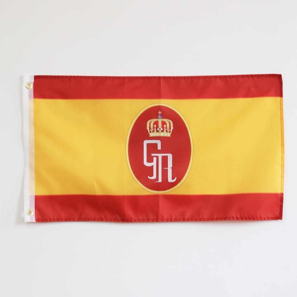 Hot Sale Bendera Spanyol Dan Lambang Spanyol Royal Guard