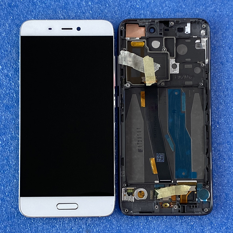 "5.15"" Original Axisinternational For Xiaomi 5 Mi5 M5 LCD Screen Display+Touch Digitizer With Frame + Fingerprint For Xiaomi Mi 5"