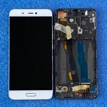 Pantalla LCD de 5,15 pulgadas Axisinternational Original para Xiaomi 5, Mi5, M5, con digitalizador táctil y Marco, huella dactilar para Xiaomi Mi 5