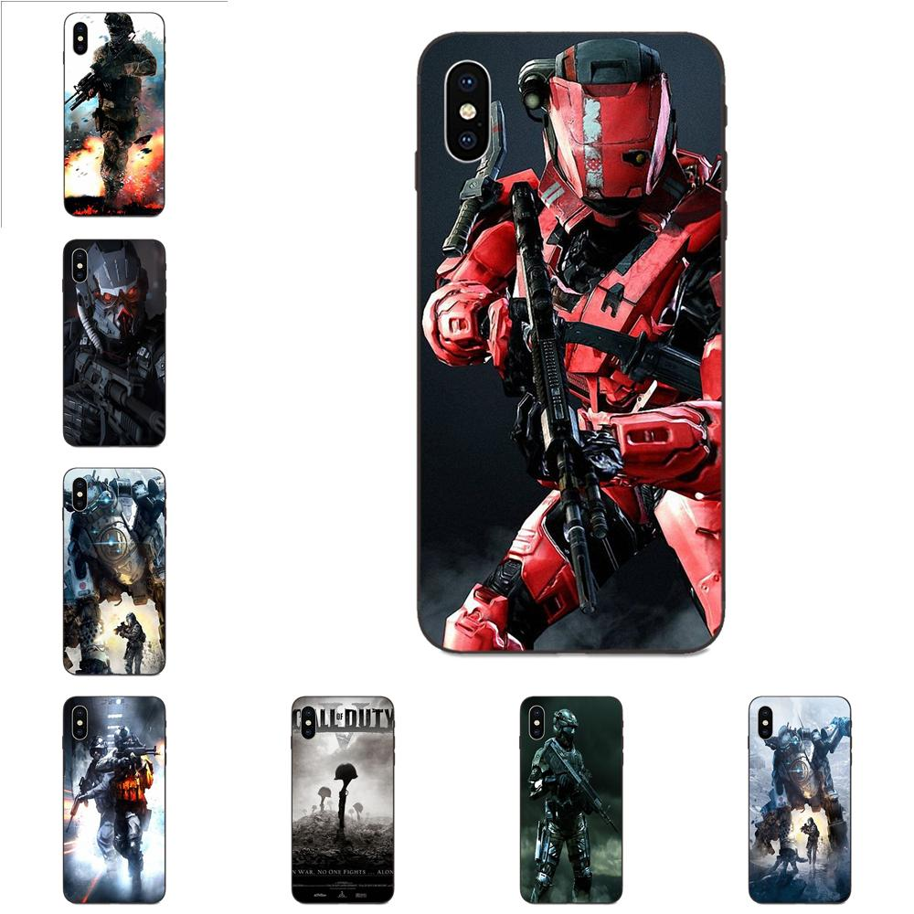 Video Game War Soldier Military For Galaxy A8 A9 Star Note 4 8 9 10 S3 S4 S5 S6 S7 S8 S9 S10 Edge Lite Plus Pro G313 image
