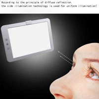 10,000 Lux Phototherapy lamp LED photo face bionic solar phototherapy lamp Promise dimming eye protection table lamp