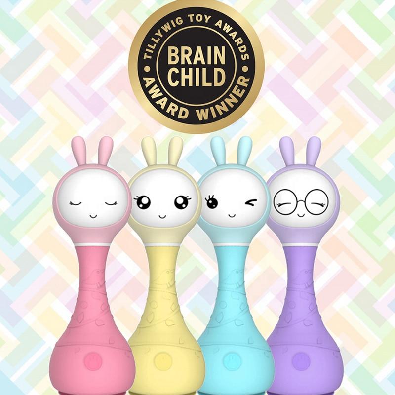 Alilo Smarty R1 Рождественский подарок для детей, детская игрушка с кроликом, детский музыкальный плеер, умная история, Теллер, умный робот, cozmo Golbe