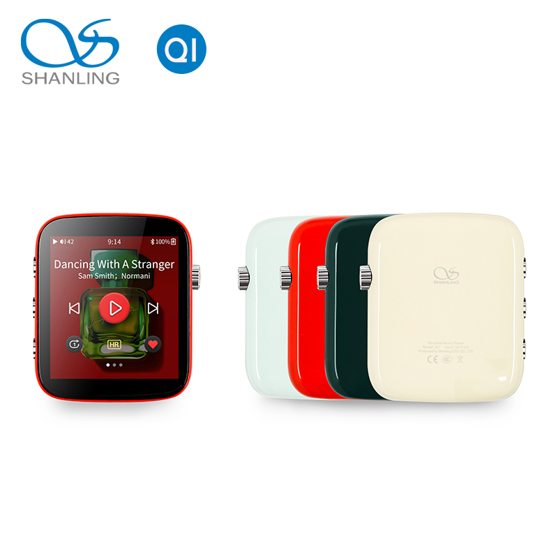 Shanling Q1 Portable Player ES9218P DAC/AMP Two-Way Bluetooth Hi-Res 32Bit/ 384KHZ HiFi Music Player