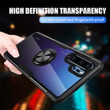 все цены на Case For Huawei Mate 20 Lite Case Magnetic Ring Holder Stand Cover For Huawei P30 Pro P20 Honor 8X Max 10 Lite Play Nova 5 Case