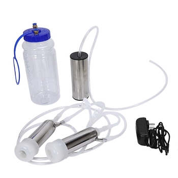 Electric US Plug Milking Machine Goat Milking Machine Thickened Water Tank PVC Hose with Flow Restrictor