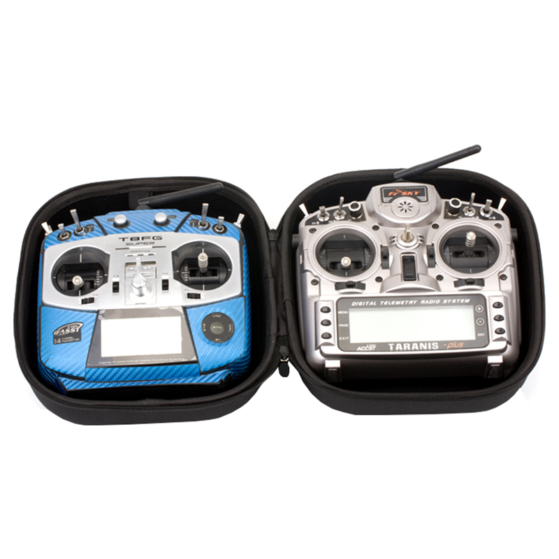Flysky RC Remote Control Transmitter Bag for FUTABA T14SG T8FG JR Frsky Taranis X9D PLUS Transmitter|Parts & Accessories| |  - title=