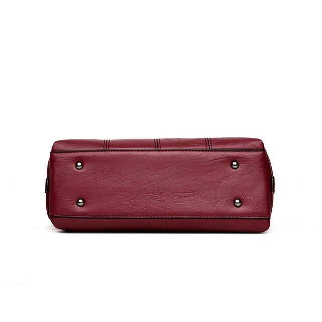 Classic Vintage Leather Handbag 3