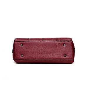 Image 4 - 3 メインバッグレディースハンドバッグ女性 2020 デザイナーハンドバッグ高品質本革の高級ハンドバッグ女性のバッグ嚢メイン