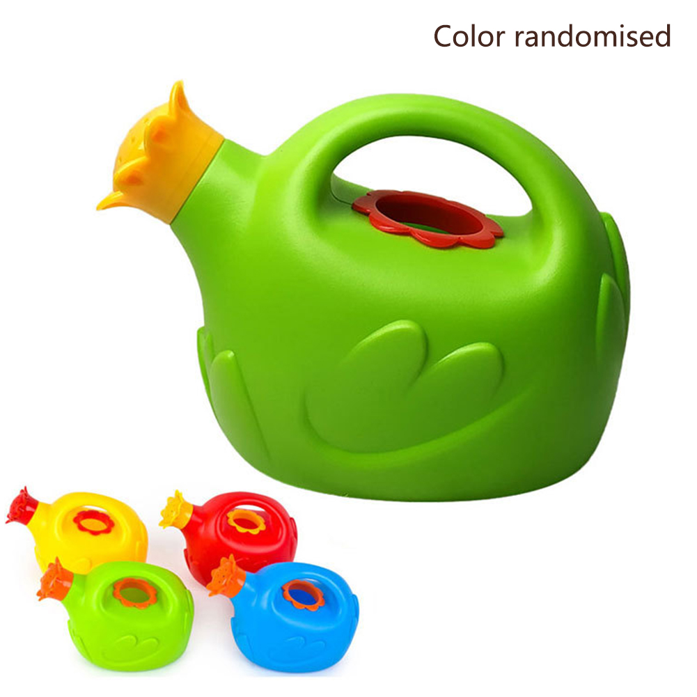 Home Bathroom Practical Watering Can Toy Play Funny Non Toxic Beach Bath Sprinkler Children Gift Sand Educational Cute Cartoon
