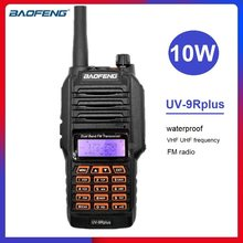 BAOFENG UV-9R PLUS 10W Powerful Walkie Talkie Waterproof VHF UHF CB Ham Radio Station uv9r Portable Two Way Radio Transceiver