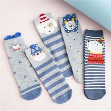KingDeng Warm Woman Cute Socks Winter Harajuku Cartoon Kawaii Pink Art Sock Korean Style Women Streetwear Fashion Design