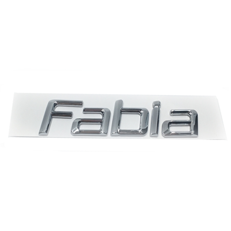 Image 3 - New Car Sticker 3D ABS Decal Badge Emblem For Skoda Octavia Kodiaq Superb Fabia Yeti Rapid 1ZD853675 Chrome Logo Car Styling-in Car Stickers from Automobiles & Motorcycles