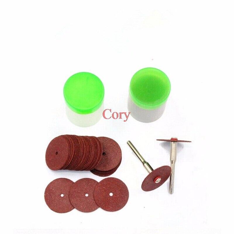 36pcs/set Resin Cutting Discs Niversal 24mm Mini Diamond Cutting Discs Wheel Drill Bit For Rotary Jewellery Tool Kit