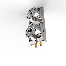 TeJing 2 Referencia neumático mandril grande CNC EDM erowa Cambio rápido accesorio de chuck
