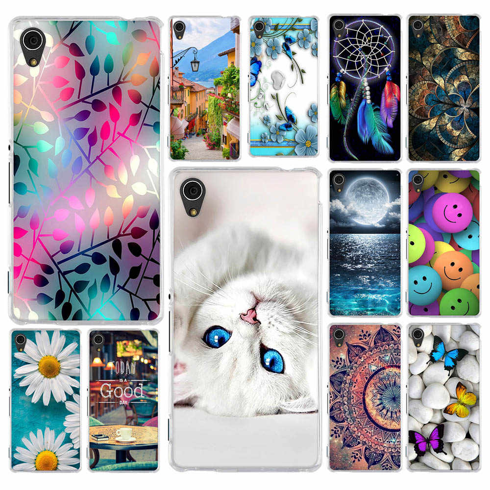 For Cover Sony Xperia M4 Aqua Case Soft Silicone Case for Sony Xperia M4 Aqua Cover for Sony M4 Aqua Dual E2303 E2333 E2353 Bags
