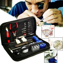 19PCS/SET Watch Repair Tool Suit For Watches Battery Accessories Watchmaker Kit Pin Remover