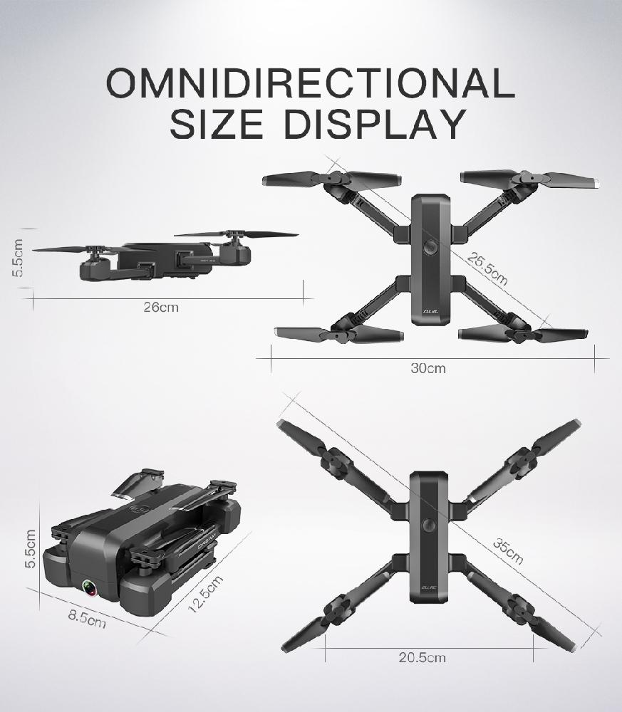 SG706 Drone 4K HD Dual Camera Foldable Quadcopter Helicopter SG706 VS KF607 XS809S XS816 GD89 36
