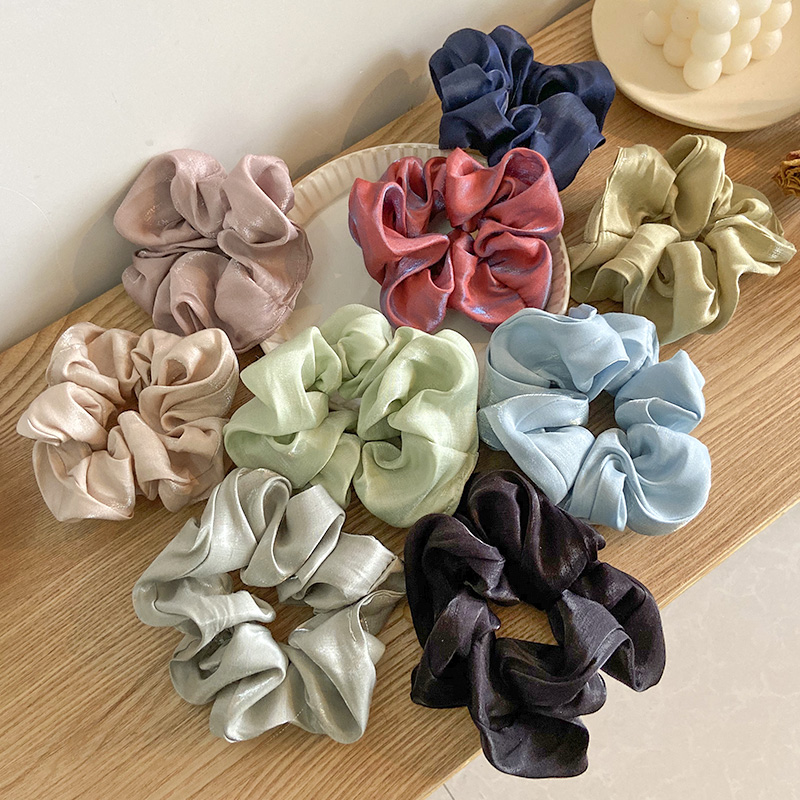 2020 New Spring Women Girls Sweet Crude Soft Elastic Hair Bands Ponytail Holder Cute Scrunchie Headband Fashion Hair Accessories