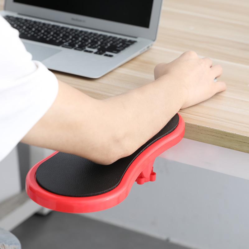 [해외] 부착 가능한 팔걸이 패드 책상 컴퓨터 테이블 암 지원 마우스 패드 팔 손목 받침대 의자 확장기 손 어깨 보호 패드